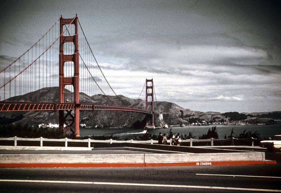 Free image of A scenic view of the Golden Gate Bridge, San Francisco, CA, USA