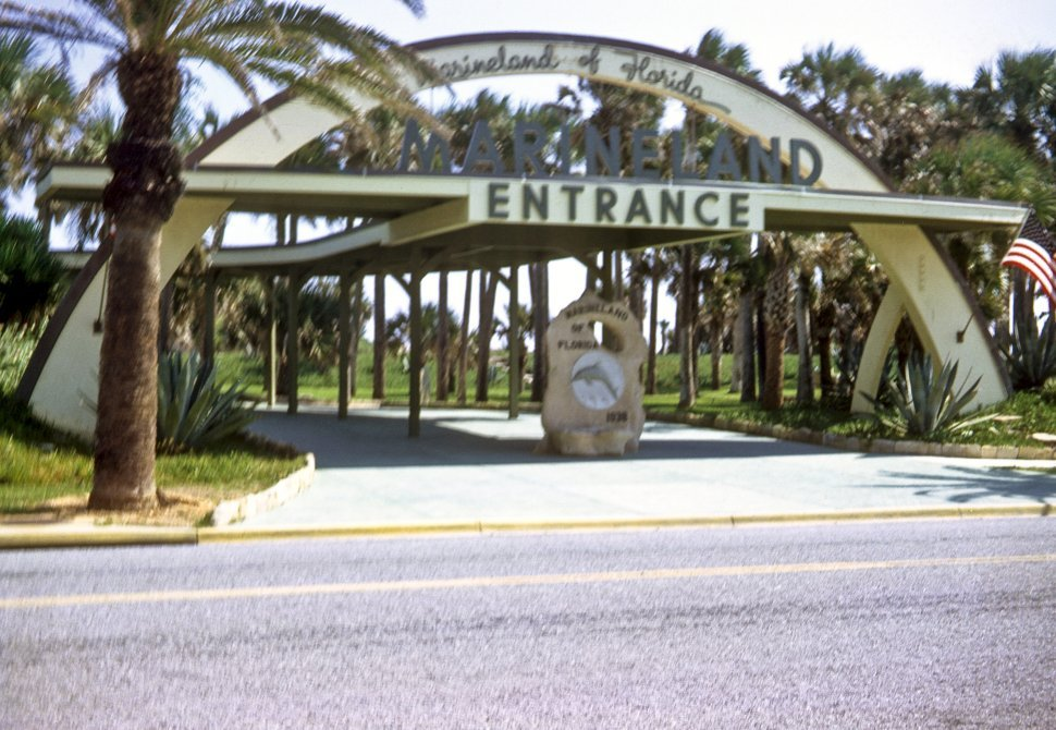 Free image of Entrance to Marineland, Florida, USA