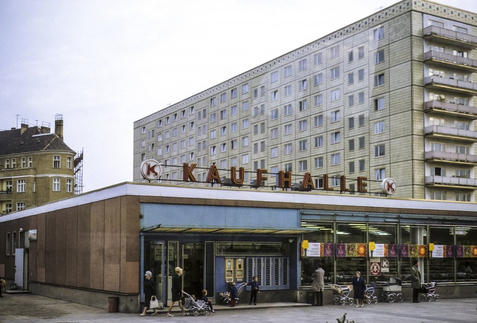 Free image of Kaufhalle, a German grocery store, Germany
