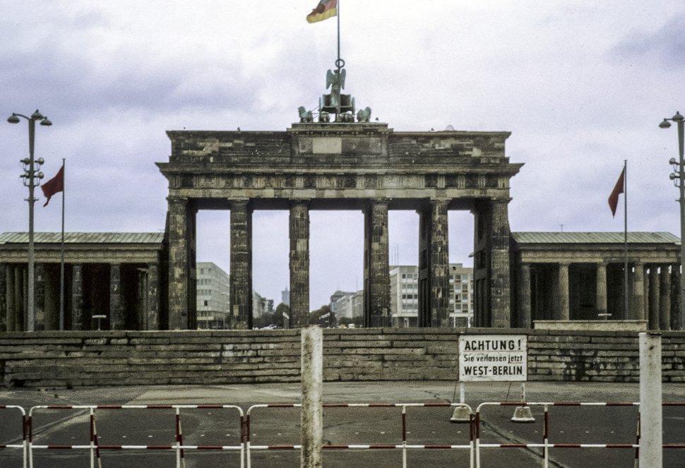 Free image of Walled off gateway to West Berlin from East Berlin, East Berlin, Germany