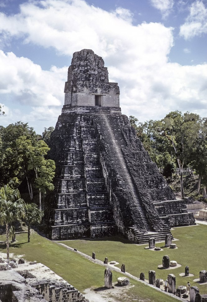Free image of View of the ancient Mayan temple Tikal, Guatemala