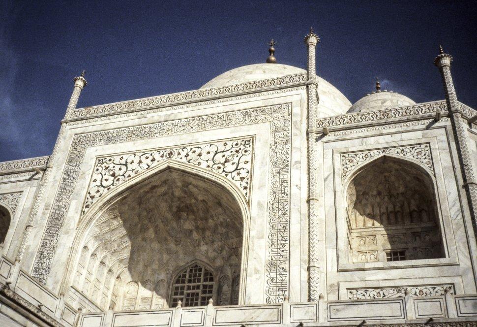 Free image of Image of Taj Majal and sky, India