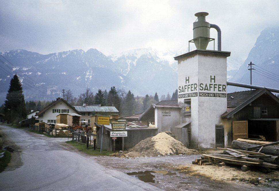 Free image of Lumber mill in the mountains, Germany