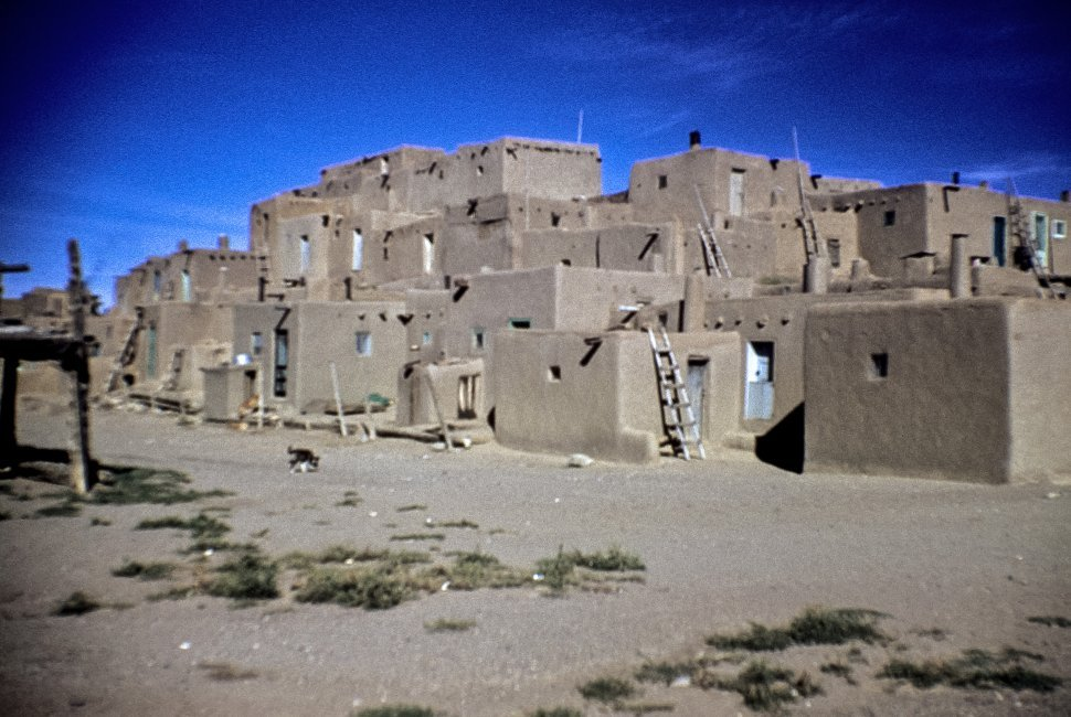 Free image of Image of a Native American pueblo, Taos, New Mexico, USA