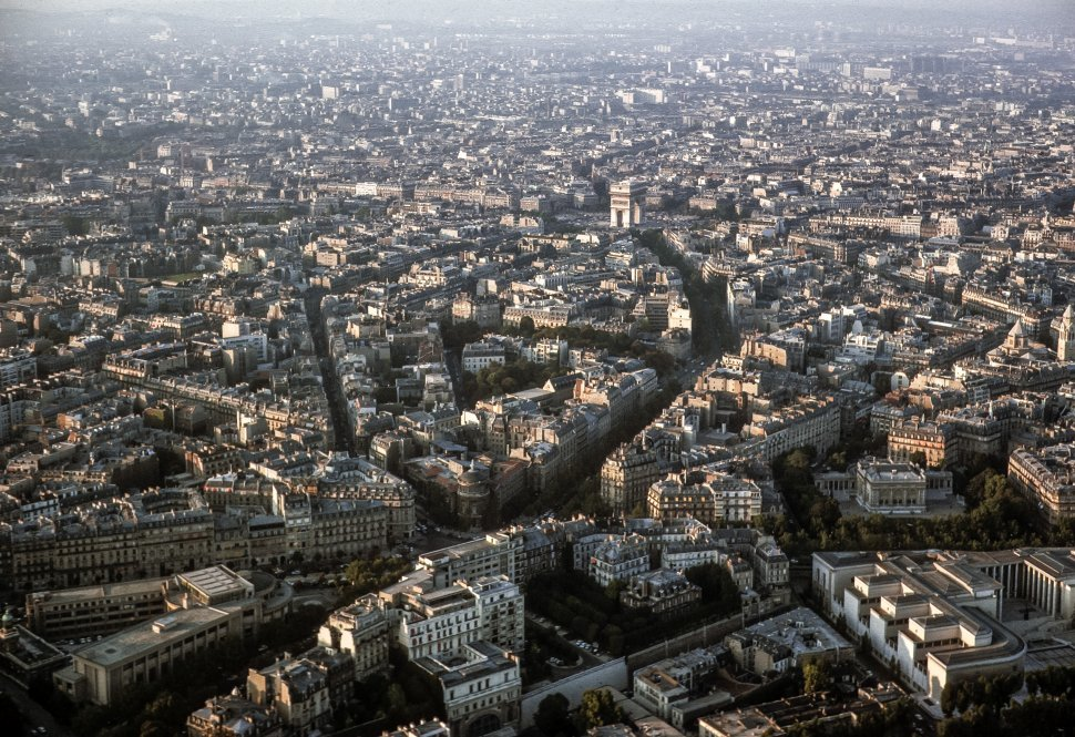Free image of Aerial view of the city, Paris, France