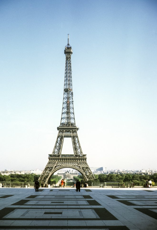 Free image of Eiffel Tower in the distance, Paris, France