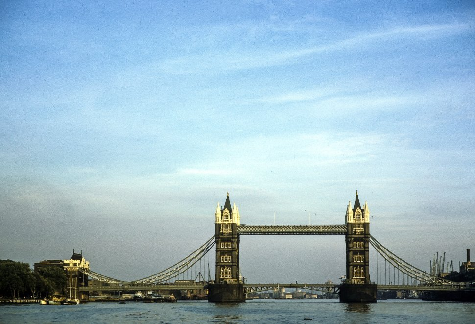 Free image of Image of the London Bridge on the River Thames, London, England
