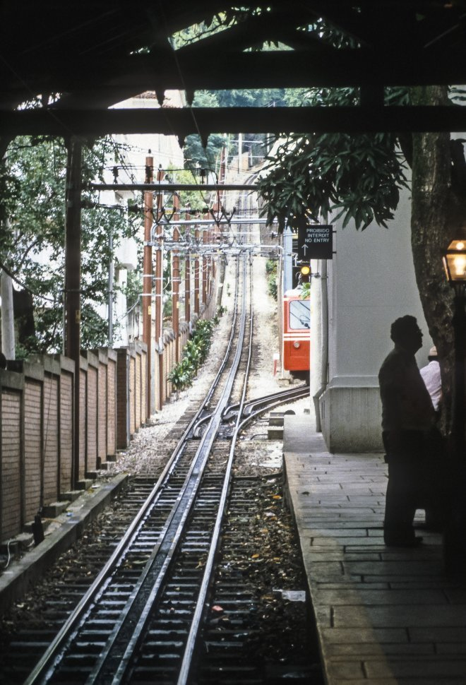 Free image of Train arriving at a shady platform, Europe