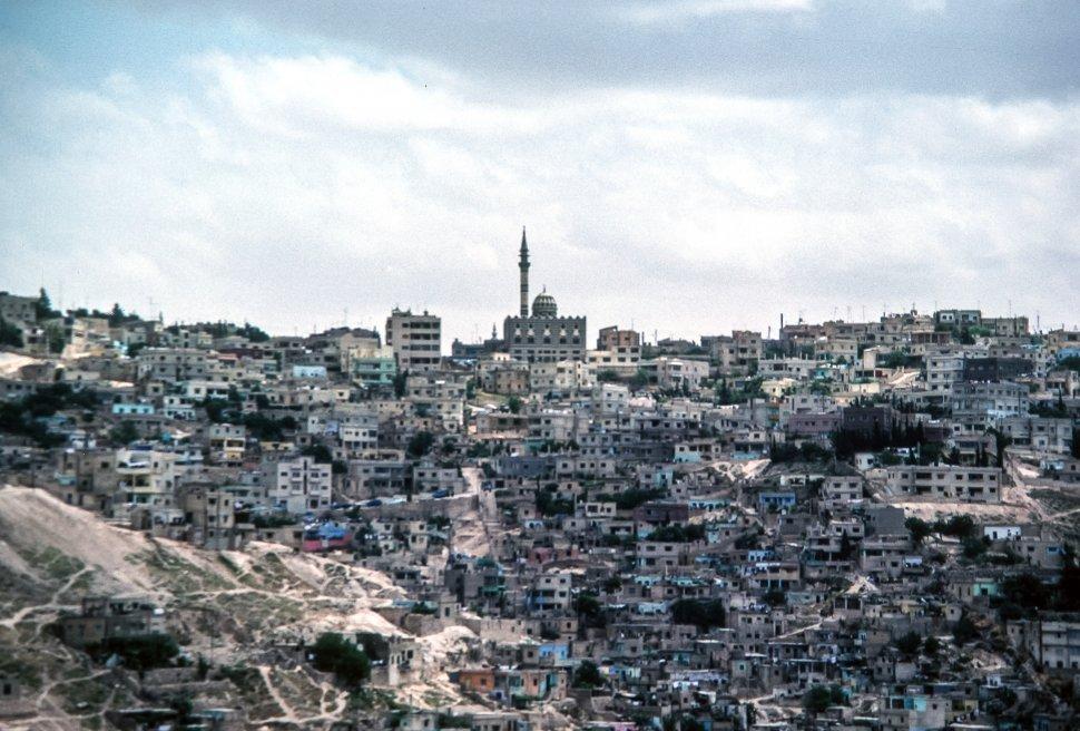 Free image of Abu Darwish mosque on Jebel Ashrafieh, Amman, Jordan, Middle East