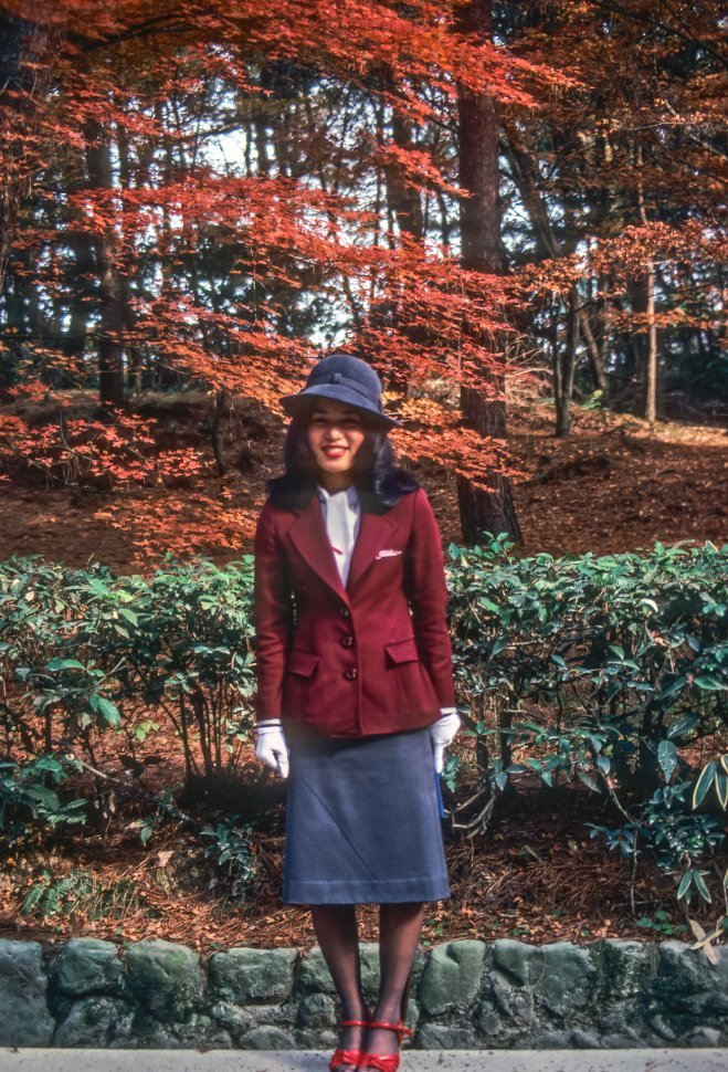 Free image of Image of female tour guide in her uniform, Asia