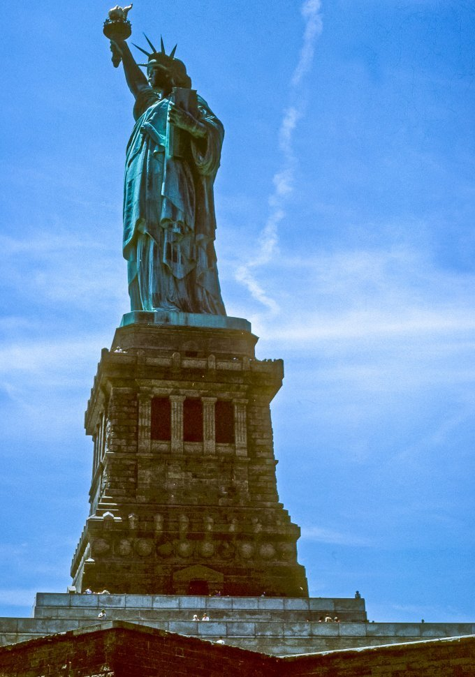 Free image of View of the Statue of Liberty, New York, New York, USA