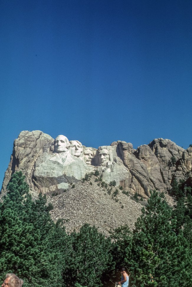 Free image of View of Mount Rushmore, Black Hills, South Dakota, USA