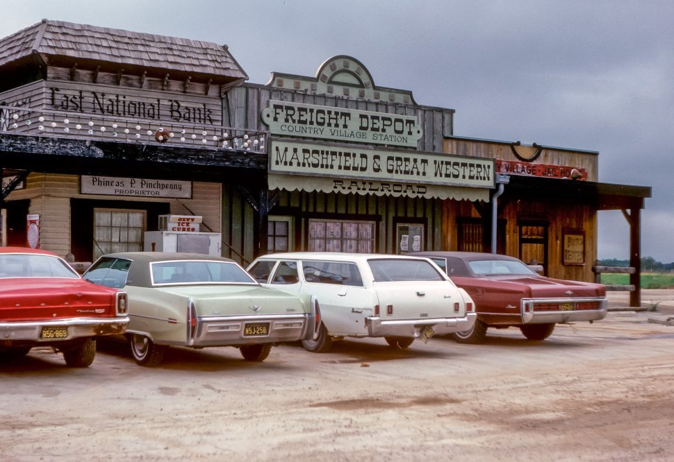Free image of Western themed country store front, USA