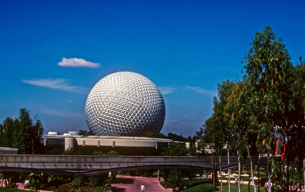 Free image of Image of Epcot Center, Disneyworld, Florida, USA