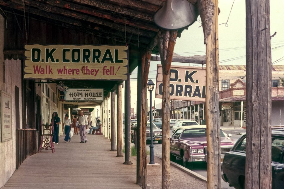 Free image of Walkways and signs of Walkways and signs of Tombstone, Arizona, USA