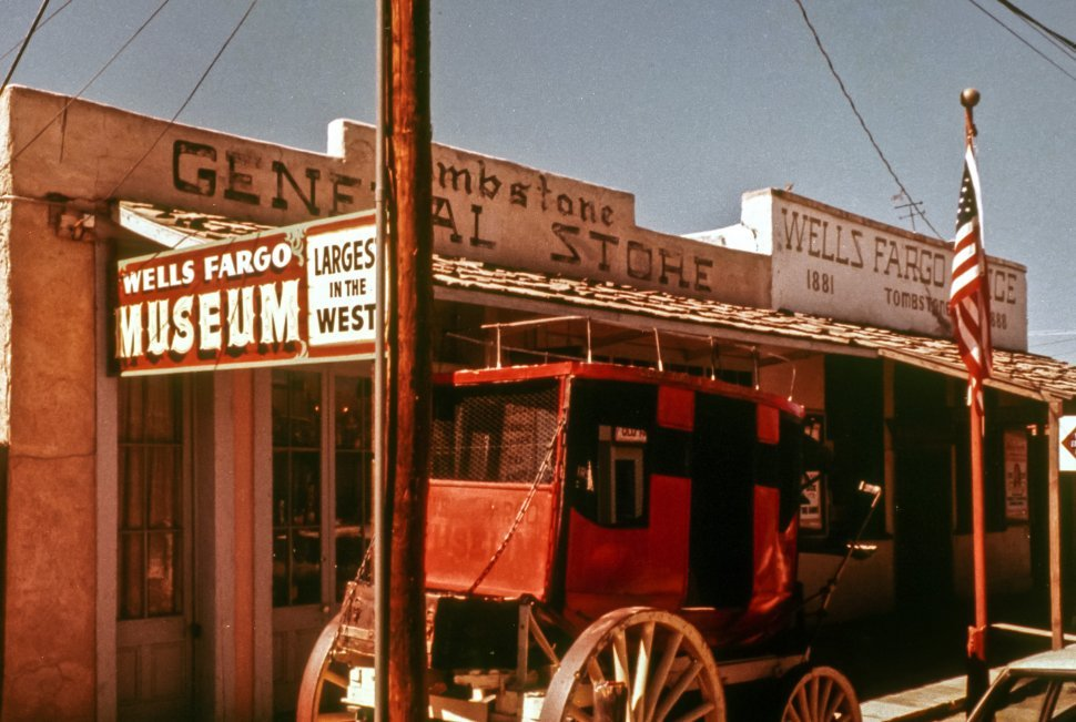 Free image of Facade of a western street, Tombstone, Arizona USA