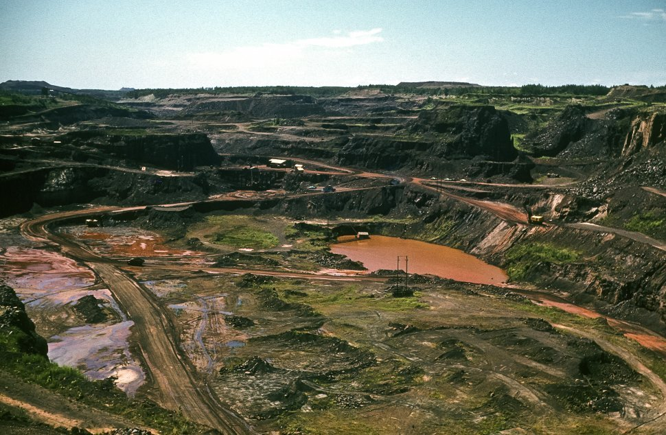 Free image of Erosion and land stripping caused by mining.