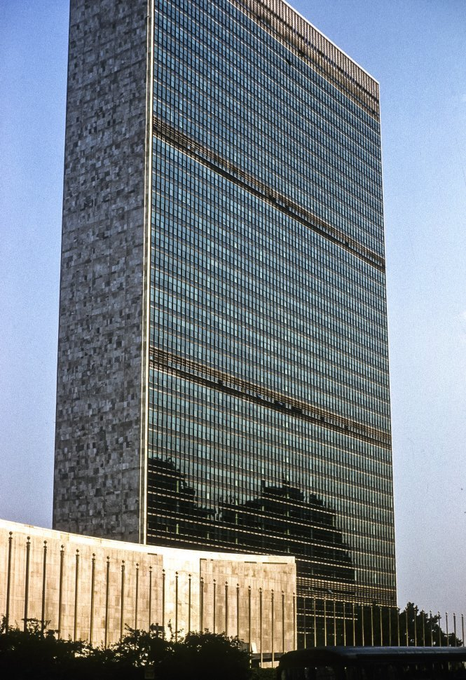 Free image of Headquarters of the United Nations, New York City, New York, USA