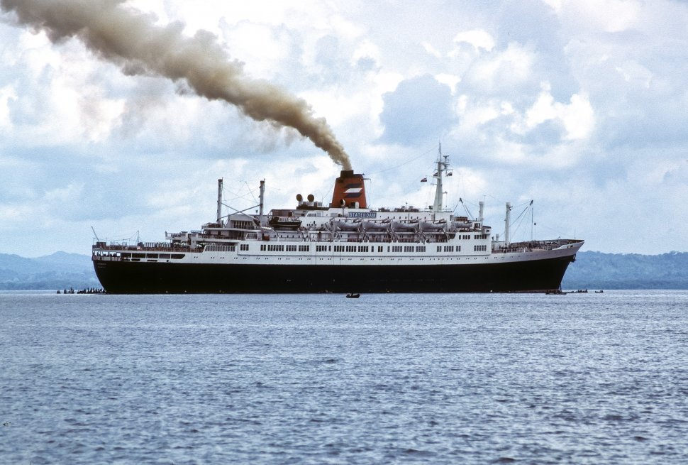 Free Vintage Stock Photo Of Ship Smoke VSP - Is there smoking on cruise ships