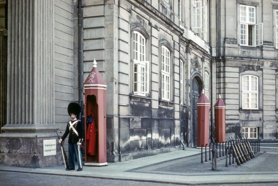 Free image of Man in guard uniform, Europe