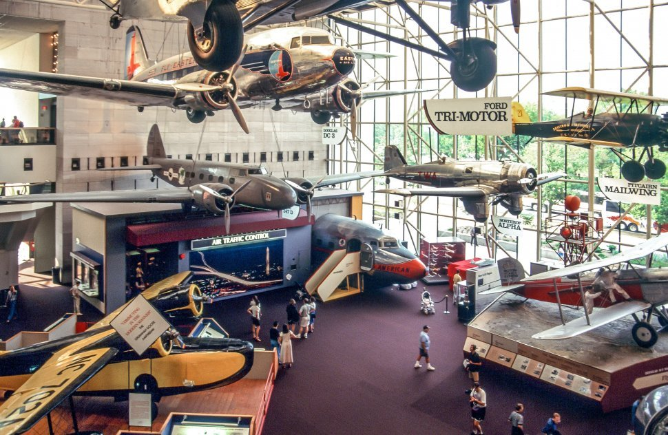Free image of Inside View Of National Air and Space Museum in Washington