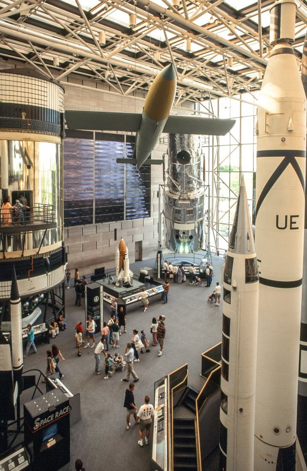 Free image of Missiles at National Air and Space Museum in Washington