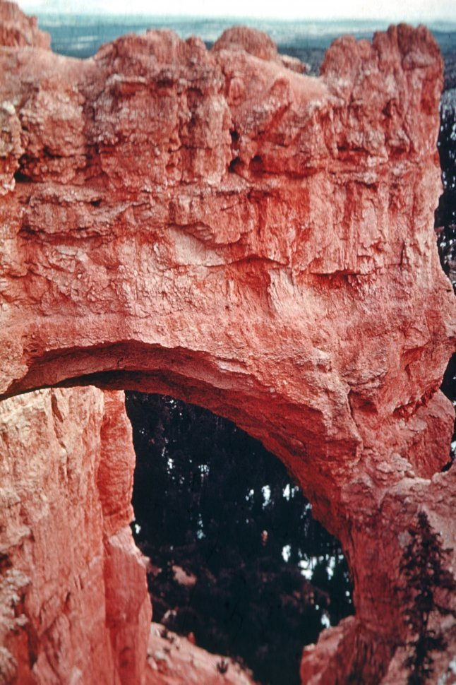 Free image of Natural rock bridge in Bryce Canyon, Utah, USA
