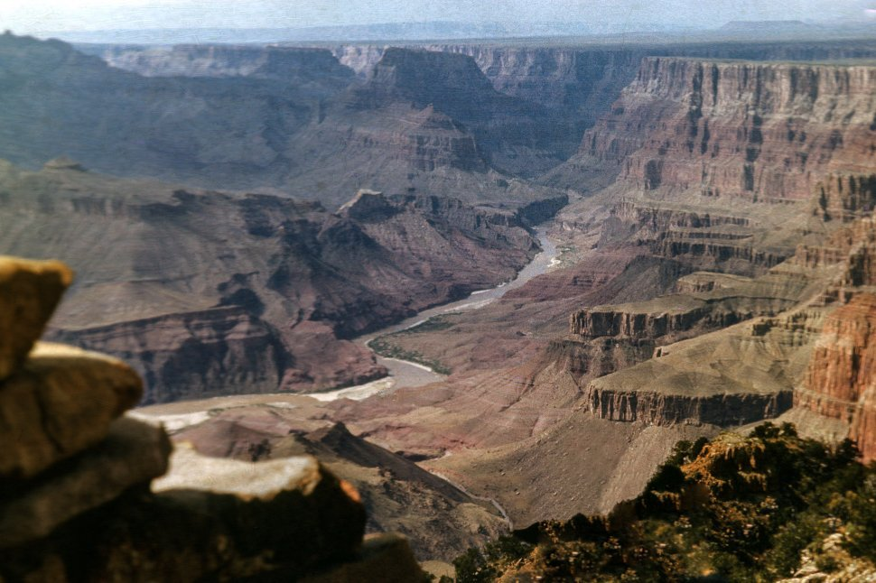 Free image of View of the Grand Canyon and Colorado River, Arizona, USA