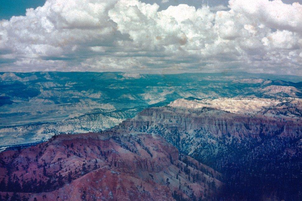 Free image of Bryce Canyon National Park panoramic view, Utah, USA