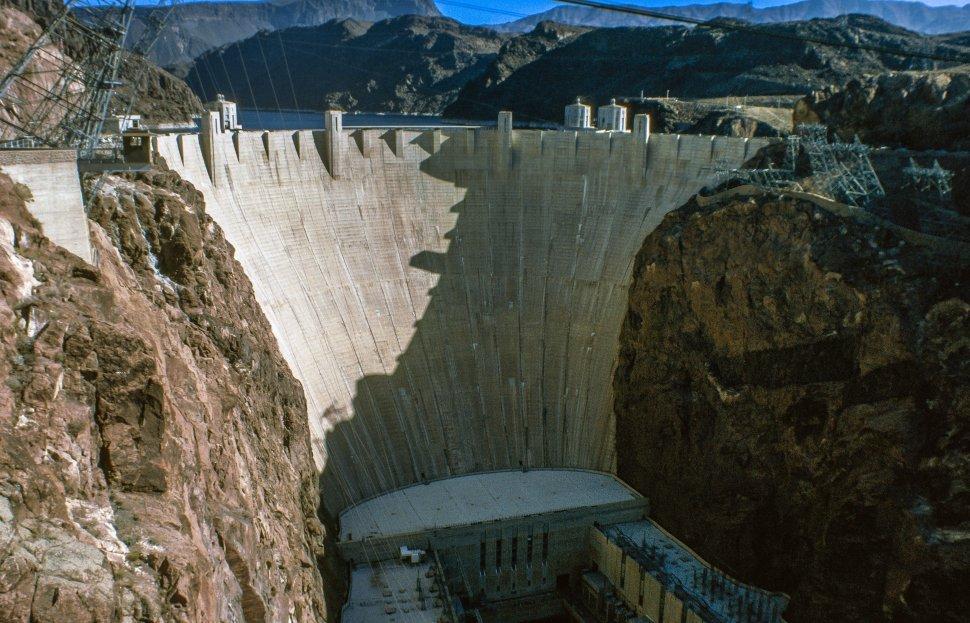 Free image of Hoover Dam on the Arizona Nevada border.