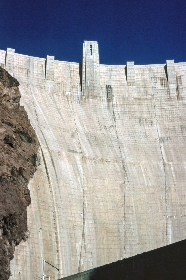 Free image of View of Hoover Dam