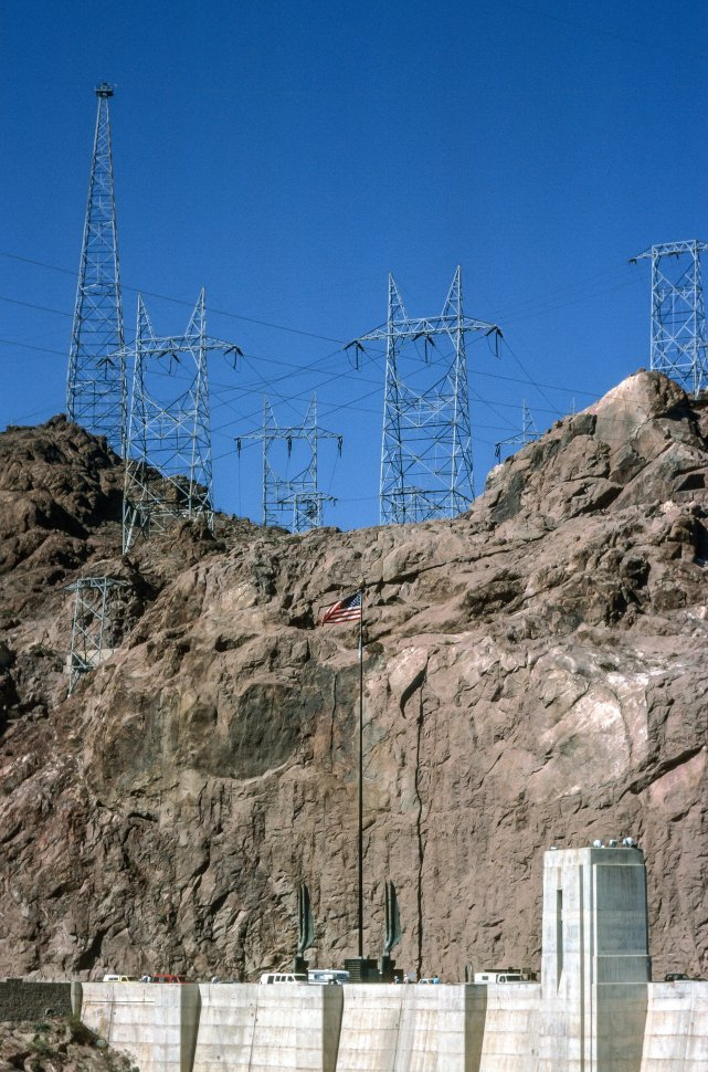 Free image of General View Of Hoover Dam in Boulder City, Nevada,