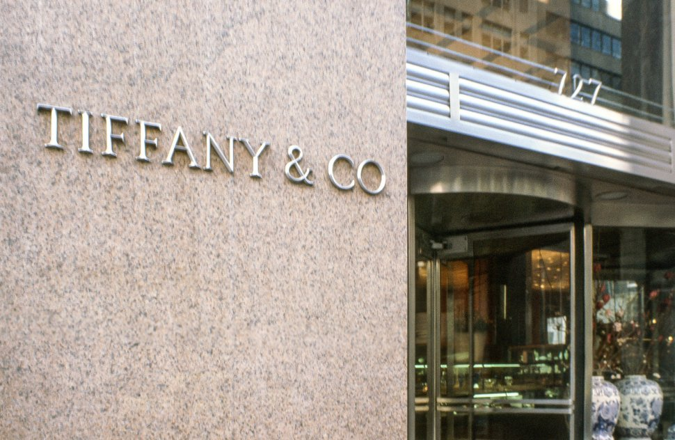Free image of View of Tiffany & Co shop in New York City