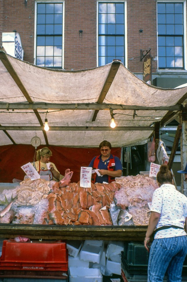 Free image of Meat Shop at Farmers  Market in Boston,Massachusetts