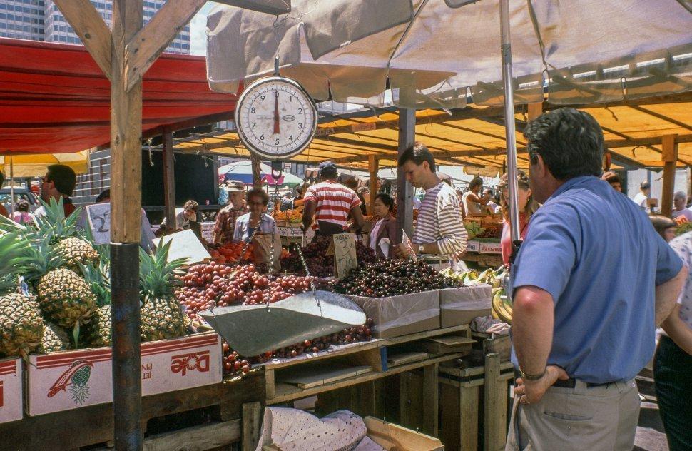 Free image of Fruit Stalls at Farmers  Market in Boston,Massachusetts