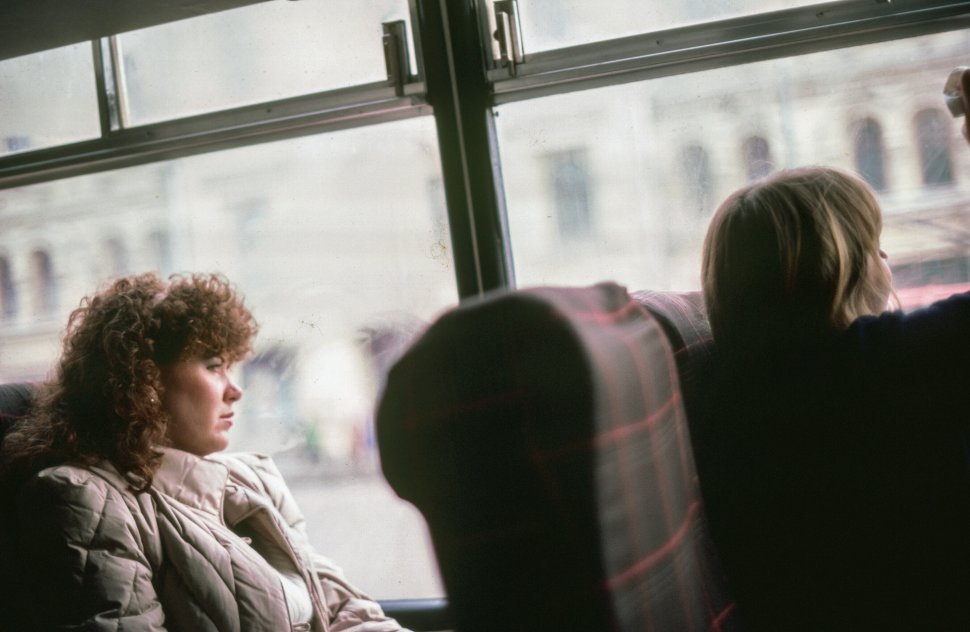 Free image of Female Tourists In Bus In U.S.S.R