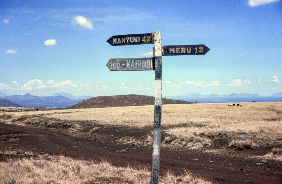 Free image of Highway Code Road Signs in Kenya
