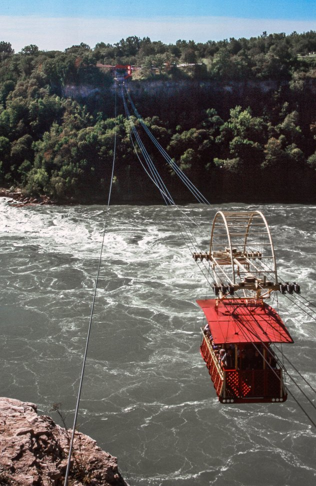 Free image of Whirlpool Aero Car over Niagara Falls