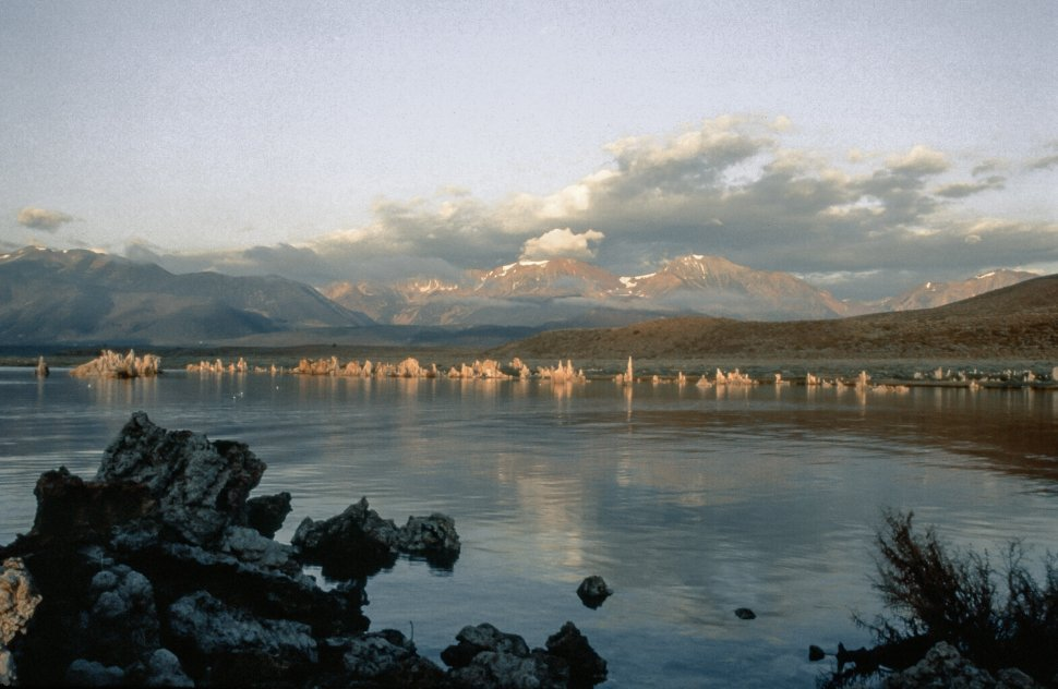 Free image of Tufa Tower in Mono Lake, California, USA