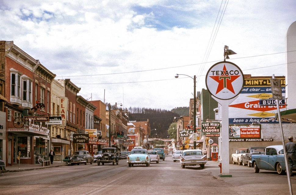 Free image of Deadwood City in South Dakota