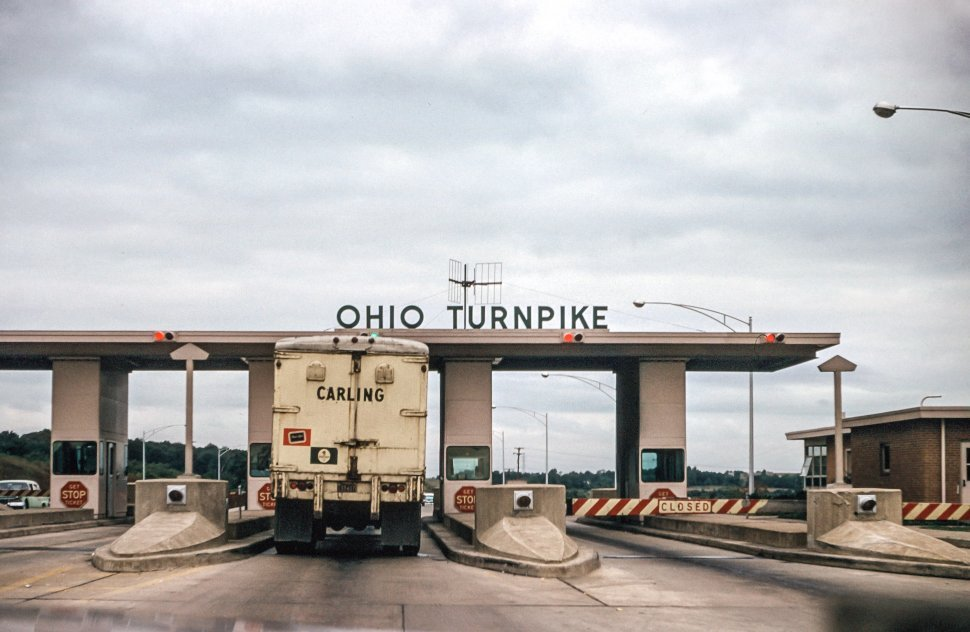 Free image of View of Ohio Turnpike