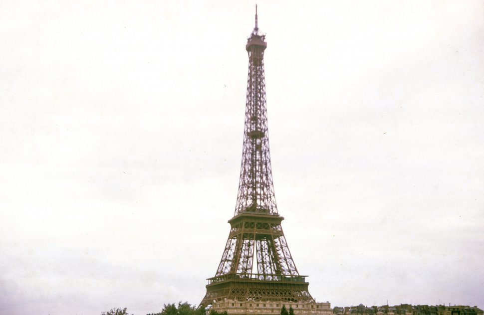 Free image of General View of Eiffel Tower in Paris, France