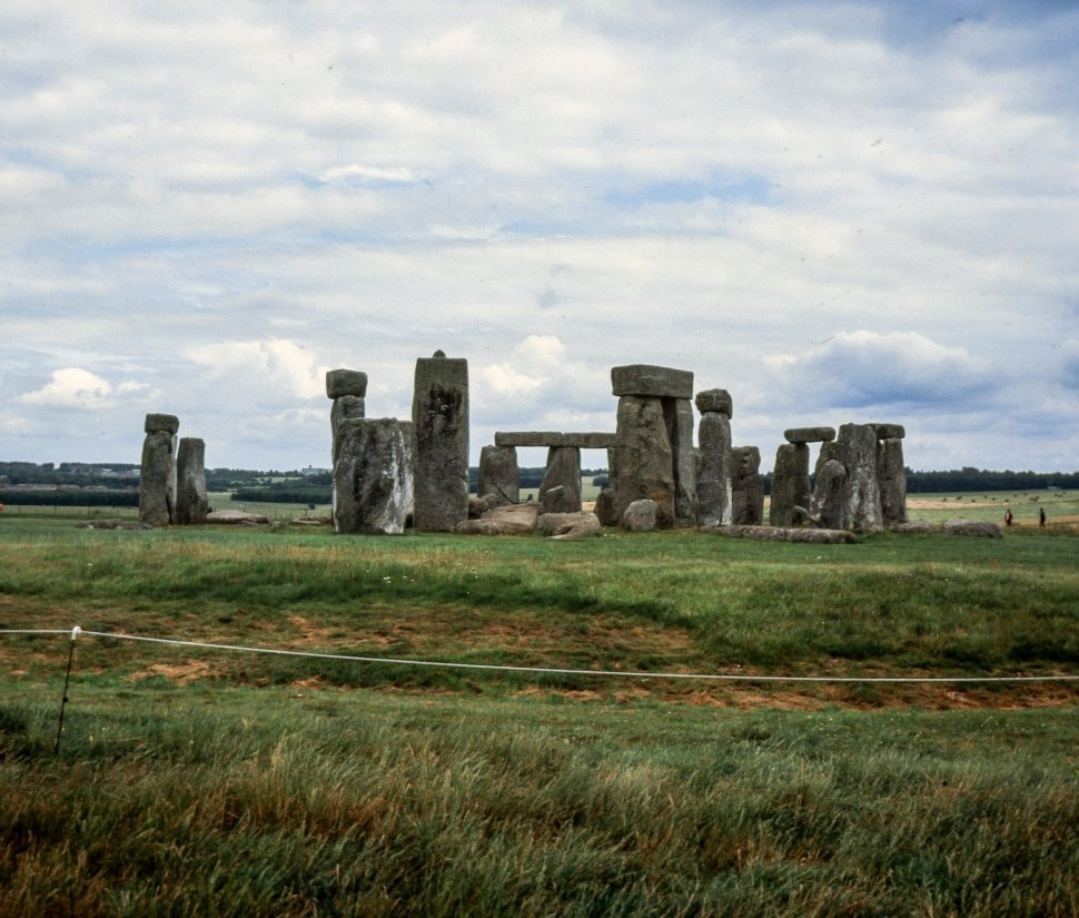 Free image of General View of Stonehenge - Amesbury, Wiltshire