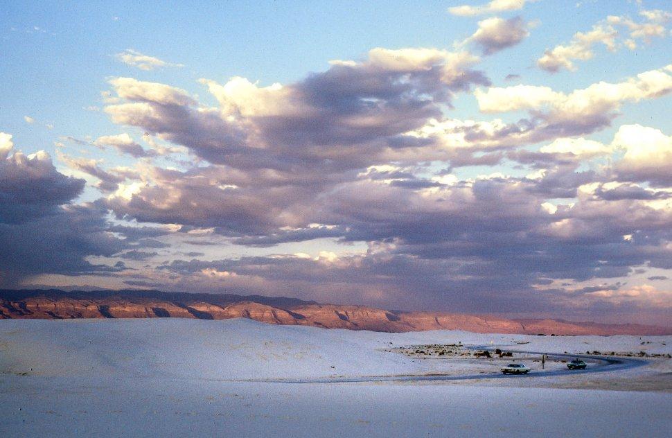 Free image of Desert landscape with sand dunes