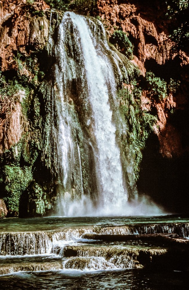 Free image of View of Waterfall