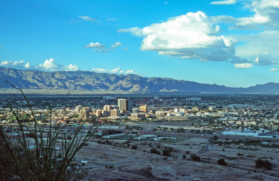 Free image of Overview of Downtown in Tucson, Arizona