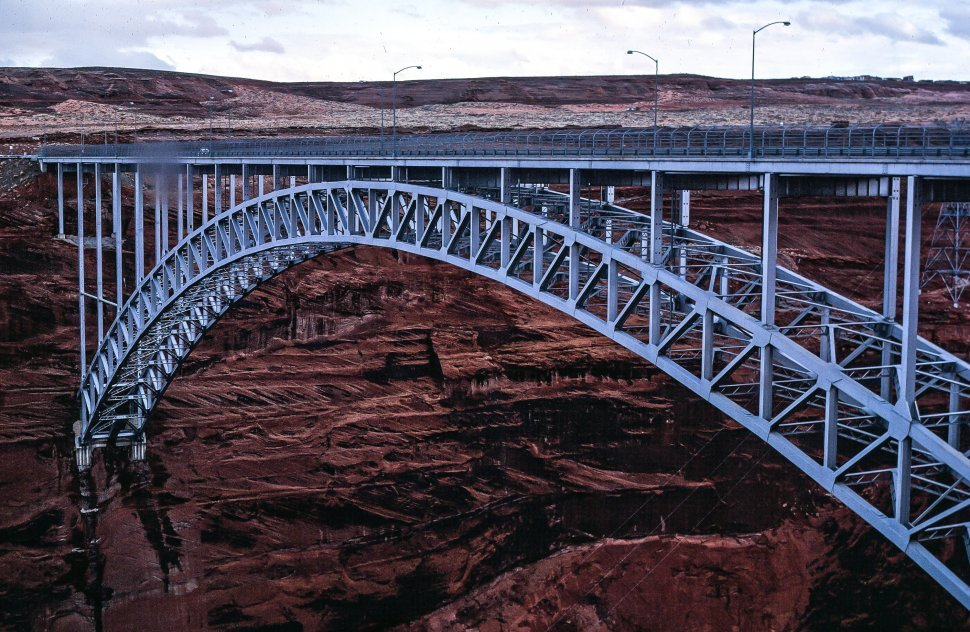 Free image of Glen Canyon Bridge or Glen Canyon Dam Bridge in Arizona