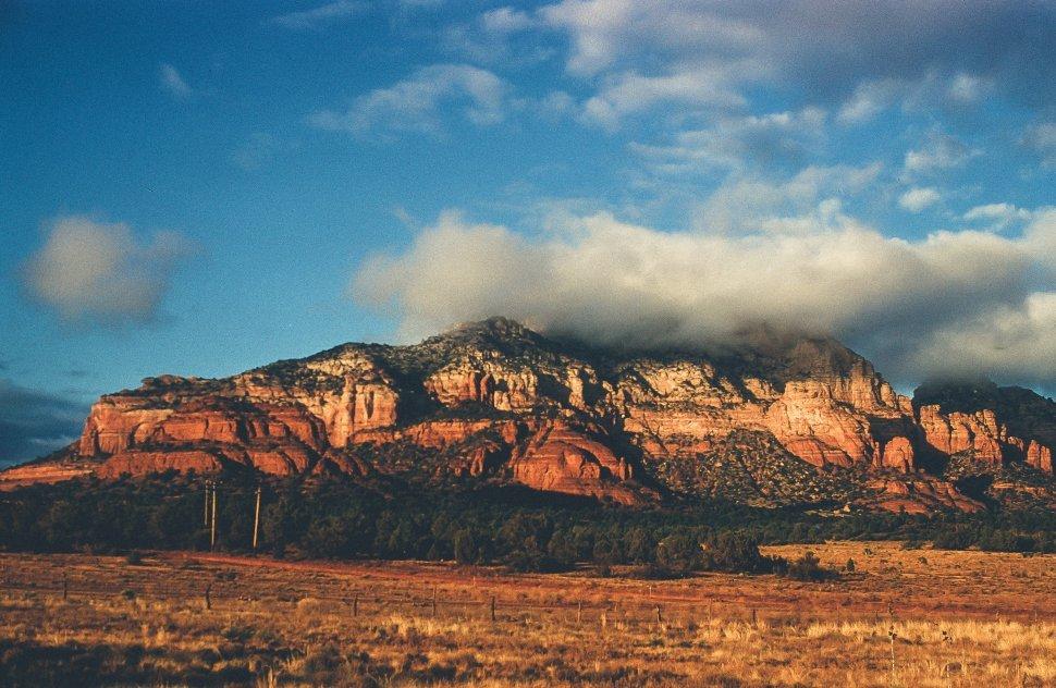 Free image of Large rock formation, Southwestern United States