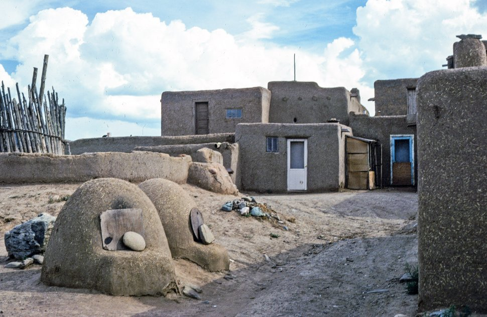 Free image of Village in Taos Pueblo, New Mexico