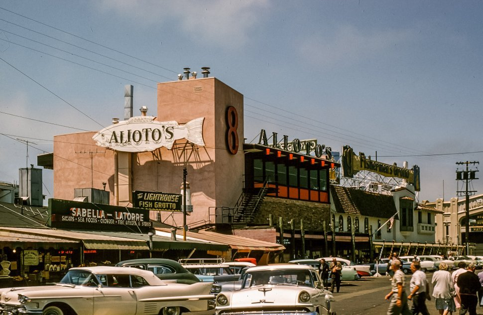 Free image of Outside View Of Alioto s Restaurant Building at Fishermans Wharf, San Francisco